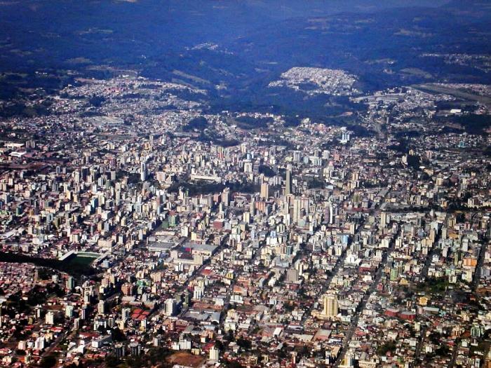 Caxias do Sul tem o 2º PIB do RS. Foto do Skyscrapercity.com