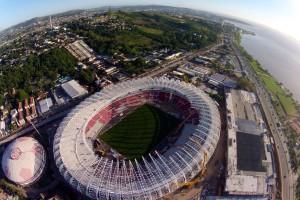 Cinco dos oito campeões mundiais podem disputar jogos no Beira-Rio  Foto: S.C.Internacional/Divulgação PMPA