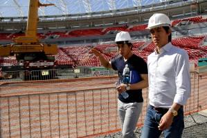 Mesmo em obras, Beira-Rio vem sendo elogiado pelos dirigentes das seleções  Foto: Anselmo Cunha/PMPA