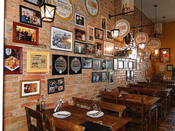 O Restaurante Mamma Julia original, no segundo pavimento do Mercado.