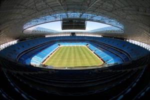 Diretor da OAS revelou que houve conversa informal para substituir Arena da Baixada caso não fique pronta.  Crédito: Lucas Uebel / Grêmio / CP Memória