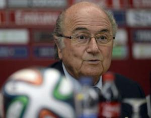 Presidente da Fifa avalia que Brasil começou tarde demais a se preparar Crédito: Gerard Julien / AFP / CP