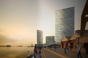 Estão previstos hoteis, shoppings, salas comerciais e centro de eventos Crédito: PMPA / Divulgação / CP