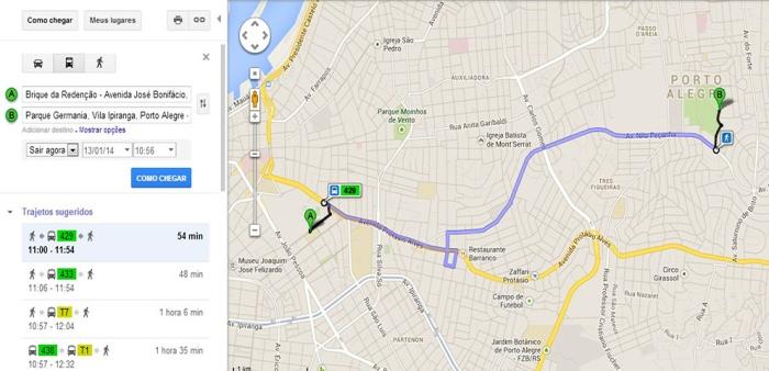 Pela internet, usuário poderá consultar qual linha de ônibus escolher Foto: Divulgação/PMPA