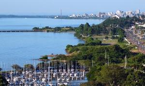 Lago Guaíba. Foto: Gerson Ibias