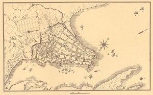 Planta da cidade de Porto Alegre em 1837