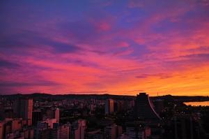 Pôr-do-Sol. Foto: Anderson Vaz