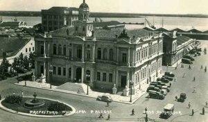 Paço Municipal em foto de 1930