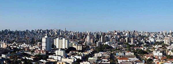 Porto Alegre em 2010. Foto: Gilberto Simon