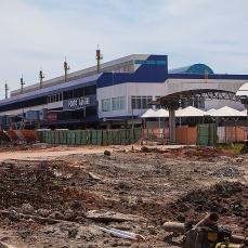 Fotos como esta do Aeroporto Salgado Filho em obras, são constantes no Blog Porto Imagem. Foto: Gabriel Heusi - Infraero
