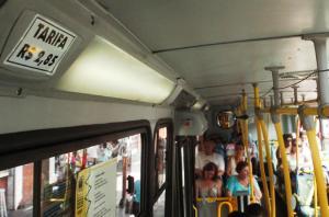 Prefeitura poderá incluir o ar-condicionado na licitação para o transporte público da Capital Crédito: Arthur Puls / CP Memória