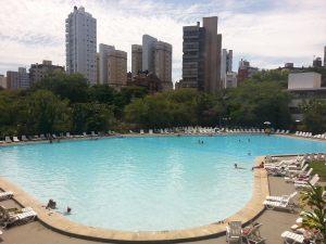 Altas temperaturas continuarão sendo registradas nos próximos dias. Foto: Gilberto Simon - piscina do Grêmio Náutico União, 06/02/2014