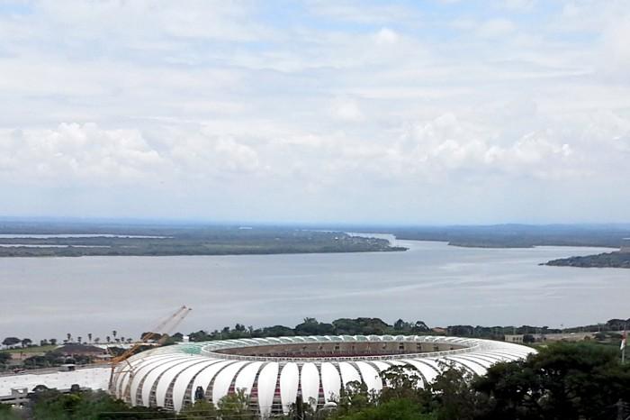Direção confirmou proposta construída entre prefeitura, Estado e clube Foto: Anderson Kblo/Divulgação PMPA