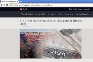 Brasil é um dos cinco países que mais emitem vistos para os Estados Unidos  Foto: Divulgação/PMPA