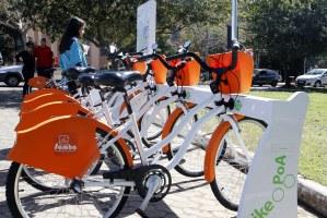 Serviço oferece 390 bicicletas, distribuídas em 39 estações   Foto: Ivo Gonçalves/PMPA