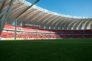 Beira-Rio ainda terá obras por cerca de um mês  Crédito: Alexandre Lops / Inter / CP