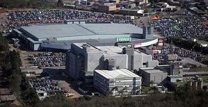 Centro de Eventos e Exposições da FIERGS, na zona norte de Porto Alegre. Imagem: Fiergs