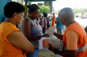 Fiscais estão sendo orientados sobre a forma de abordagens de rua Foto: Divulgação/PMPA