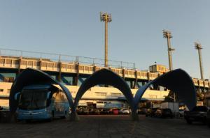 Centro de Treinamentos do Humaitá não ficará pronto até o Mundial  Crédito: Ricardo Giusti / CP Memória