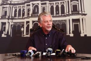 Fortunati adiantou que não sancionará a emenda dos 30 segundos nas sinaleiras.  Foto: Ivo Gonçalves/PMPA