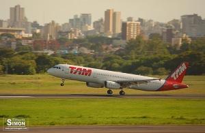 TAM solicita rota Porto Alegre - Santiago do Chile diário. Foto: Gilberto Simon
