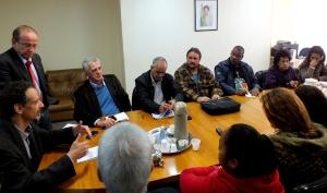 Encontro reuniu moradores com representantes dos poderes públicos   Foto: Diogo Baigorra/ Gabinete do Deputado Adão Villaverde