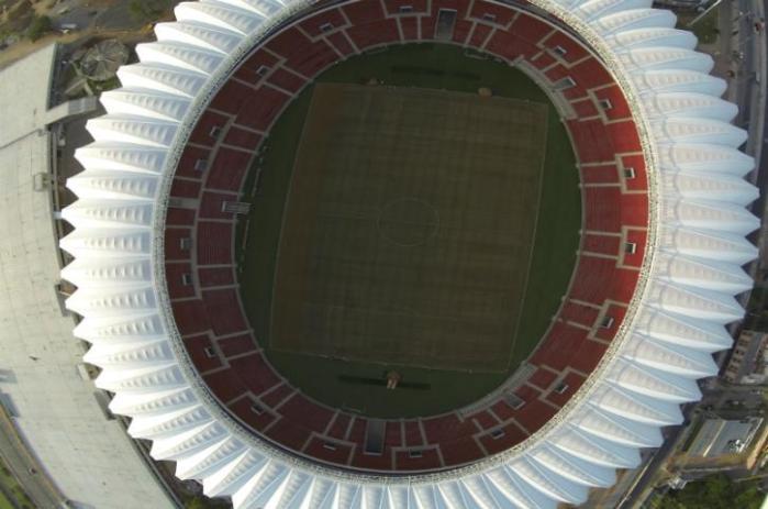 A partir desta quinta, a entidade providencia adaptações necessárias para receber os jogos da Copa  Crédito: Divulgação Inter / CP