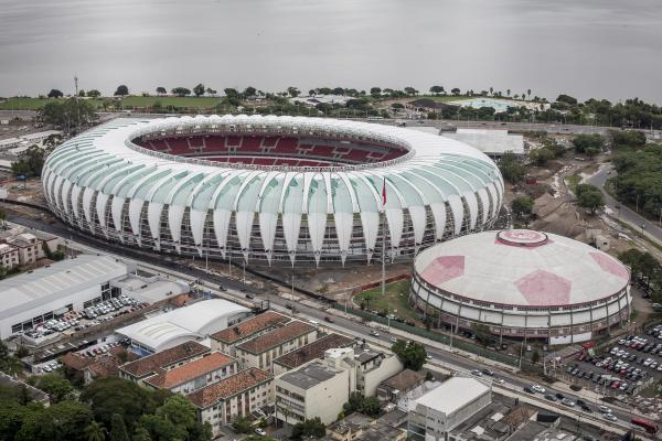 Beira-Rio vai sediar cinco jogos na Copa do Mundo (crédito: Portal da Copa)
