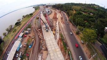 Viaduto da Pinheiro Borda ficará pronto 1 semana antes da Copa. Foto: Cristian Vargas. Grupo GPS - Facebook