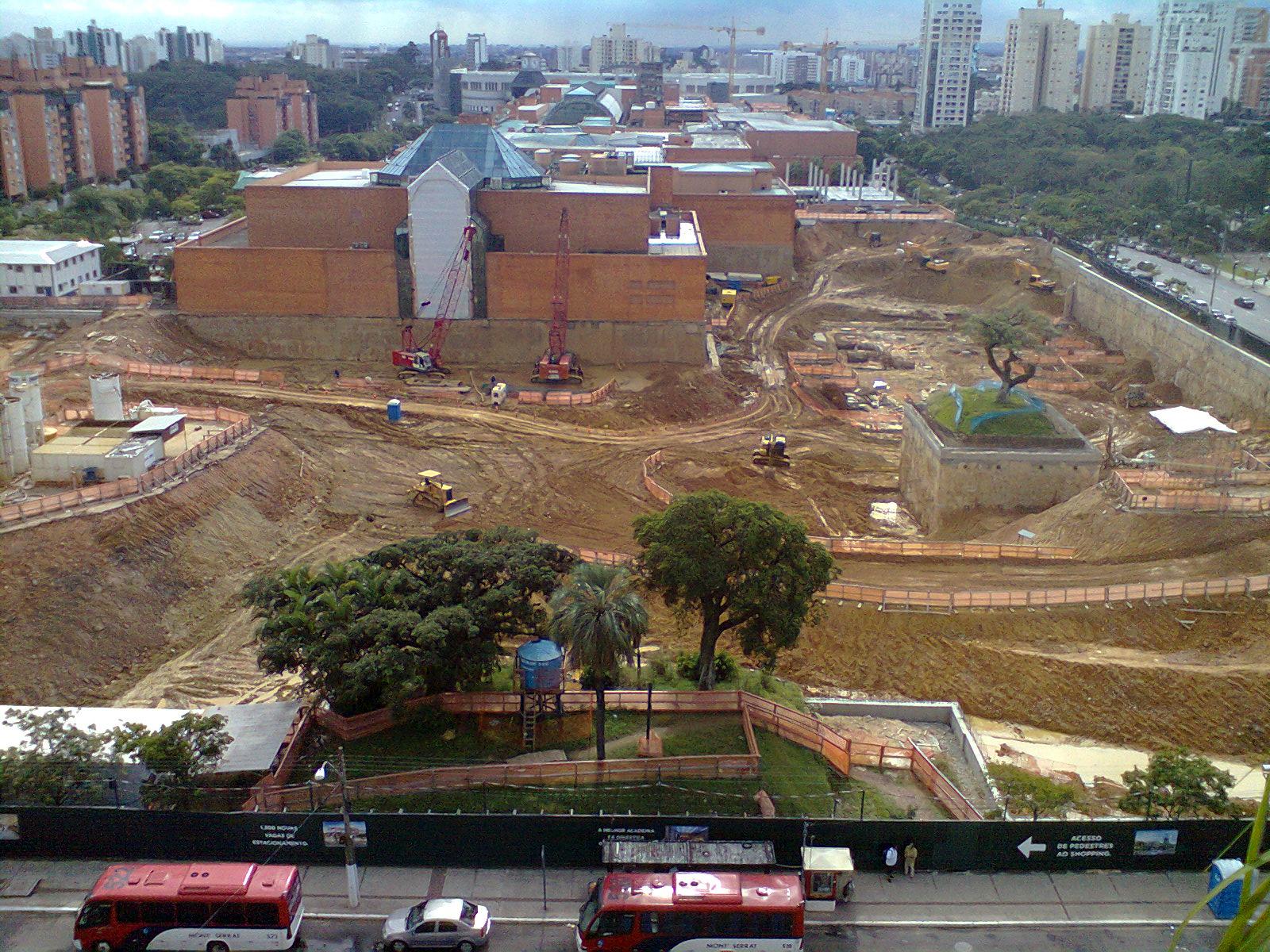 #855D46 Obras de expansão do Shopping Iguatemi – fotos de 16/05 828 Loja De Janelas De Aluminio Em Porto Alegre