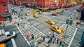 O redesenho das ruas tem papel fundamental na redução do número de mortes e acidentes (Foto: Fast Company/Reprodução)