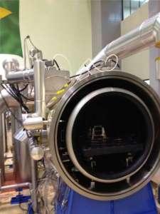Imagem do satélite durante testes no Inpe  Foto: Divulgação / Inpe