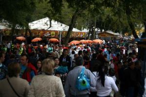 Mais de 4 mil estrangeiros se instalaram no Acampamento Farroupilha  Crédito: Luciano Medina / PMPA / CP