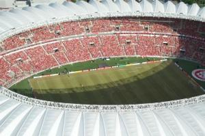 Beira-Rio não é aprovado em vistoria  Crédito: Alexandre Lops / Inter / CP