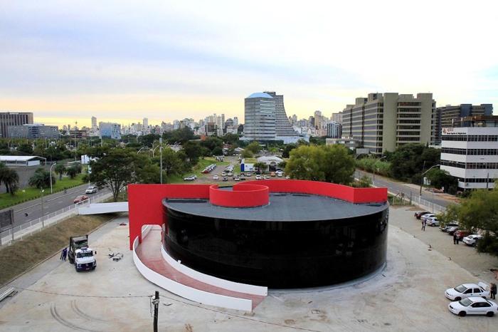 Prédio, que está 98% concluído, abrigará objetos pessoais, fotos e documentos Foto: Ivo Gonçalves/PMPA