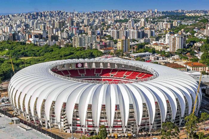 Estádio Beira-Rio, palco das partidas em Porto Alegre Foto: Vitor Kalsing