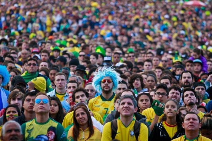 Além da Seleção, três equipes sul-americanas estarão no telão Foto: Joel Vargas/PMPA