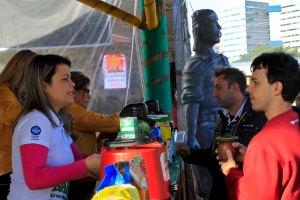 Milhares de turistas foram conferir as atrações no Parque Harmonia Foto: Luciano Lanes / PMPA