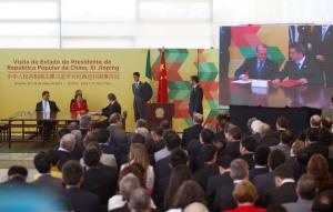 Assinatura foi feita em Brasília, durante cúpula Brasil-China