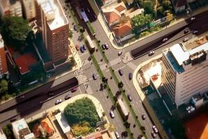 Nova estrutura viária aproveita topografia local, com menor impacto urbano  Foto: Divulgação PMPA
