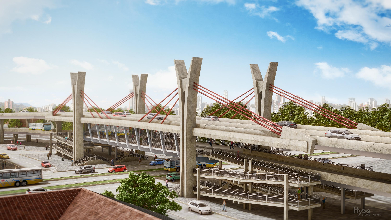 #2172AA Imagens dos novos viadutos e passagens de nível em Porto Alegre 104 Janelas De Vidro Em Porto Alegre
