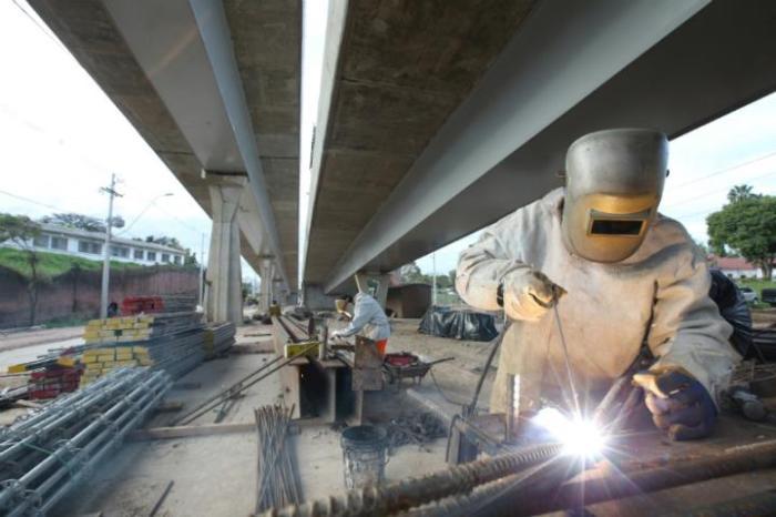Empreendimentos, como Viaduto da Nova Bento, só foram possíveis porque Porto Alegre sediou Mundial  Crédito: Mauro Schaefer