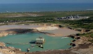 Mina de titânio Moma, em Moçambique, da Kenmare Resources