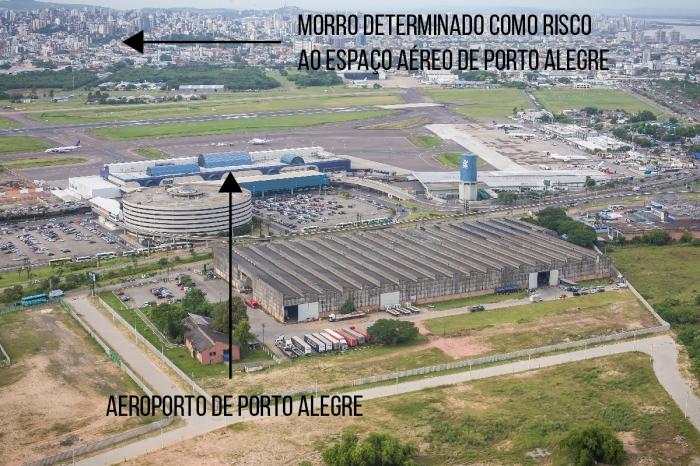 Restrição do V COMAR: apesar da distância do aeroporto, na Rua Pedro Ivo a regra só permite construir do quarto subsolo para baixo. Foto: Pacgov @ Flickr