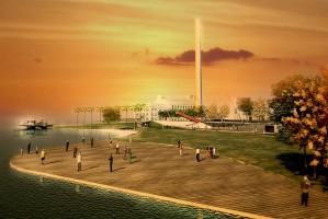Projeto de revitalização da Orla do Guaíba, de autoria do arquiteto Jaime Lerner, começou a ser discutido em 2011 | Foto: Divulgação/ PMPA/ CP