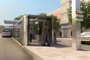 Avenida João Pessoa terá sete estações do novo sistema. Imagem: Divulgação