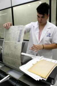 Documentos são digitalizados e enviados às secretarias Documentos são digitalizados e enviados às secretarias.  Foto: Joel Vargas/PMPA