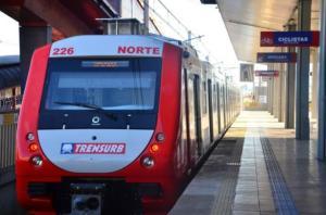 Companhia já recebeu nove dos 15 trens, com três deles já operando | Foto: Divulgação / Trensurb / CP