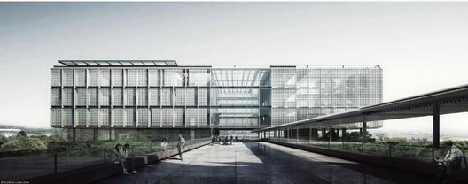 Primeiro Lugar - Corsi Hirano Arquitetos Associados . Image Cortesia de IAB-RS