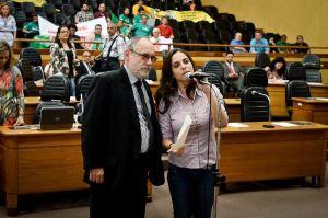 Vereadora quer informações sobre procedimentos da Smam| Foto: Ederson Nunes/CMPA